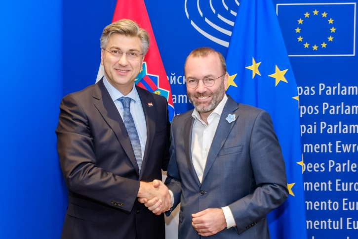 Group meeting in the presence of the Croatian Prime Minister