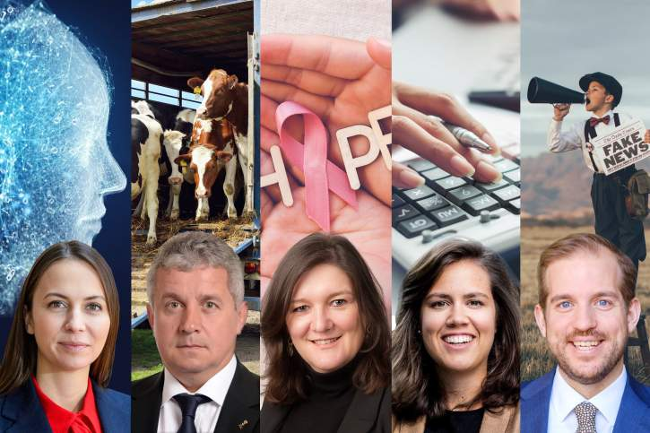 New coordinators of the EPP Group in five Parliamentary Committees