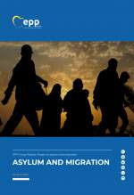 Cover PDF EPP Group position paper on asylum and migration
