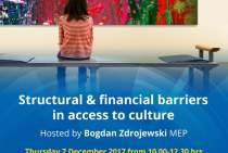 Structural and financial barriers in access to culture