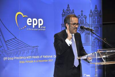 EPP Group Presidency with Heads of National Delegations