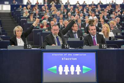 Election of the Juncker Commission
