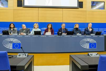 Press conference on the situation in Spain